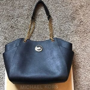Michael Kors Black Saffiano Bag